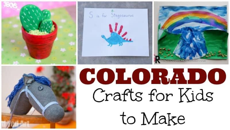Colorado Crafts for Kids to Make