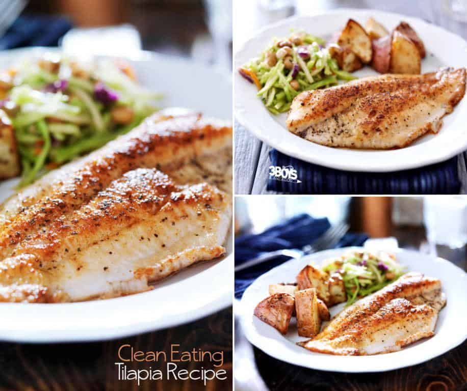 Best clean eating tilapia meal