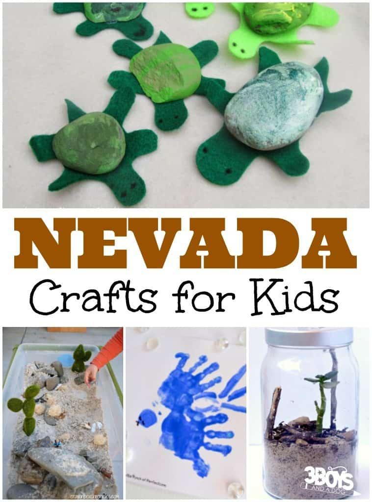 Nevada Crafts for Kids
