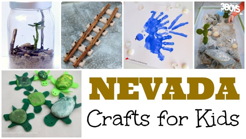 Nevada Crafts for Kids to Try