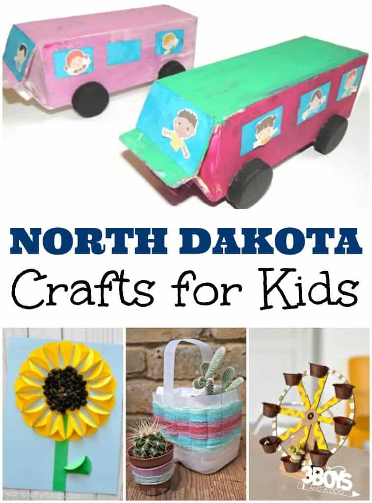 North Dakota Crafts for Kids