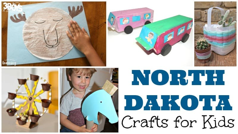 North Dakota Crafts for Kids to Make