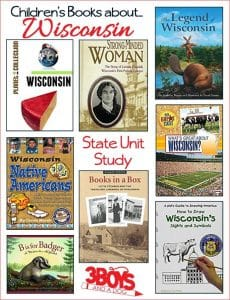 Wisconsin State Books for Kids