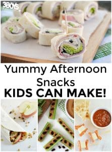Afternoon Snacks Kids Can Make