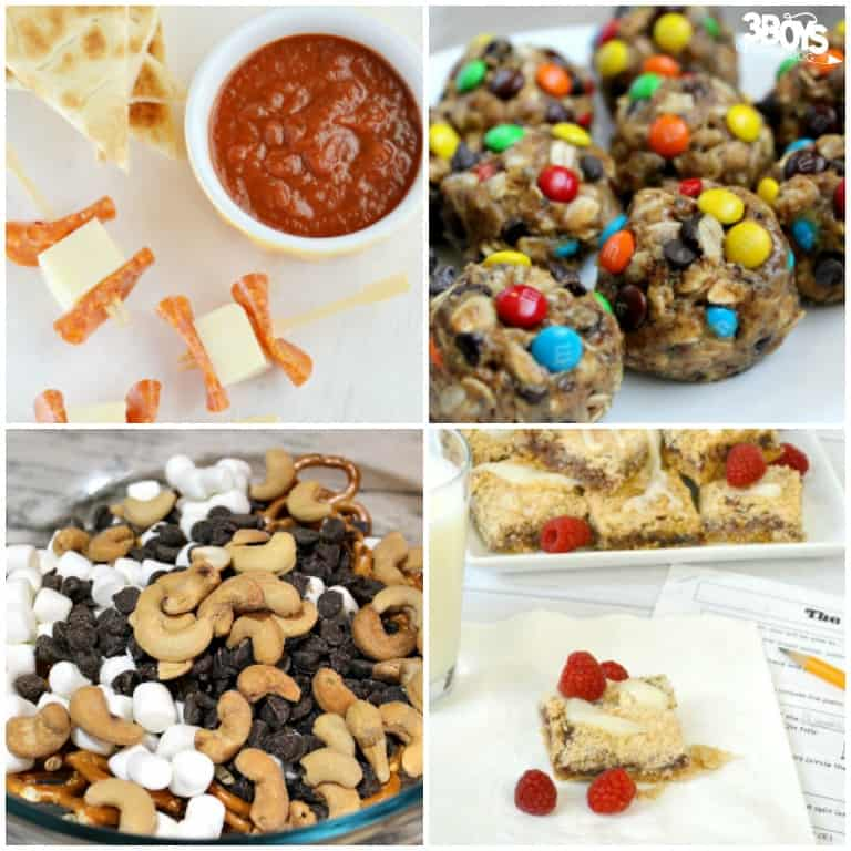 Afternoon Snacks Kids Can Make On Their Own