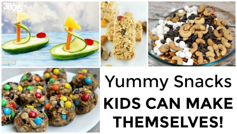 Afternoon Snacks Kids Can Make Themselves