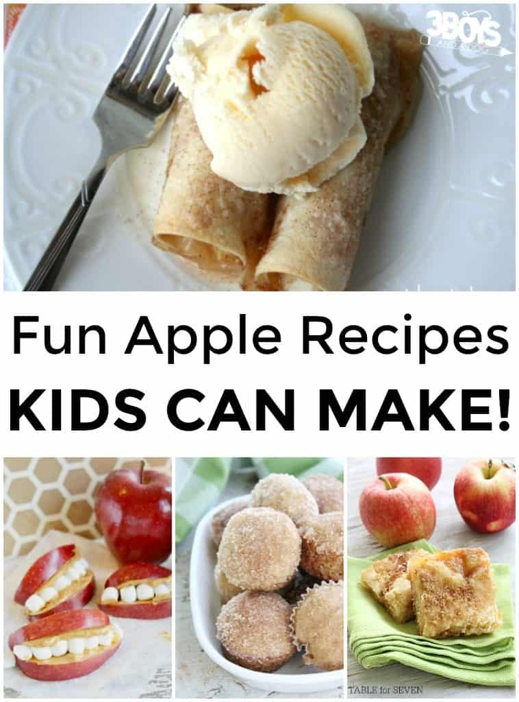 Apple Recipes Kids Can Make