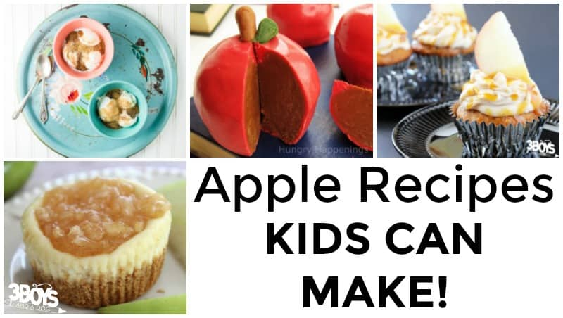 Apple Recipes Kids Can Make with Parents