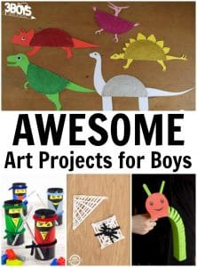 Awesome Art Projects for Boys