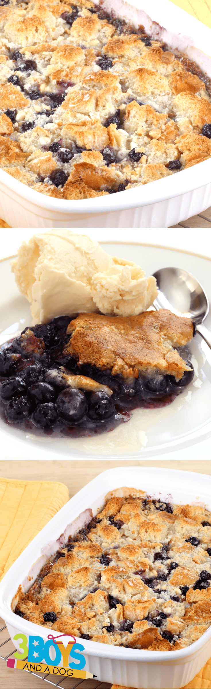 This Blueberry Cake Mix Cobbler Recipe Is A Favorite Eaten Almost Right Out Of The Oven