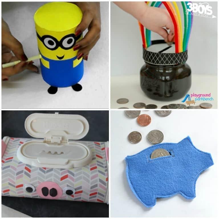 Cute Piggy Bank Crafts for Preschool