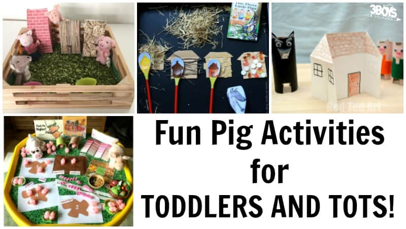 Fun Pig Activities for Toddlers and Tots