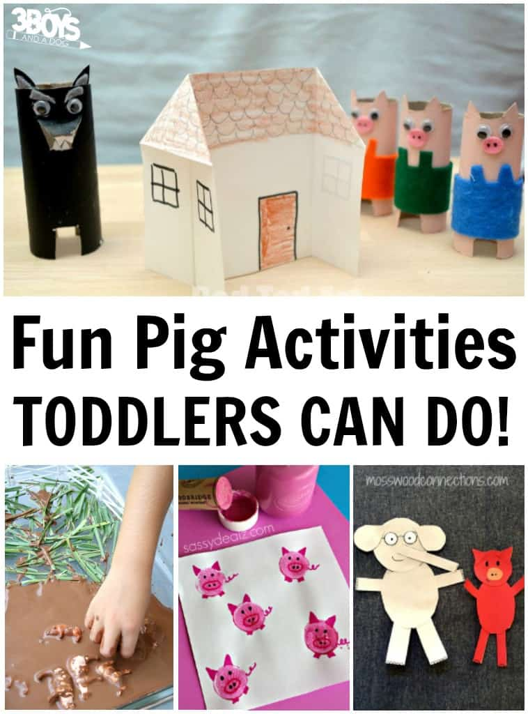Fun Pig Activities for Toddlers to Do