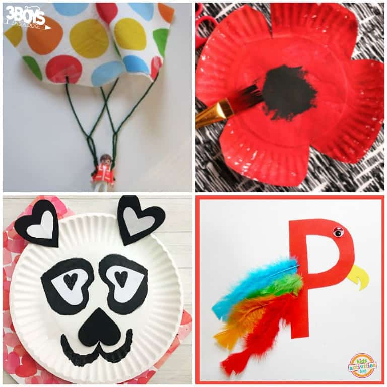 Letter P Preschool Crafts