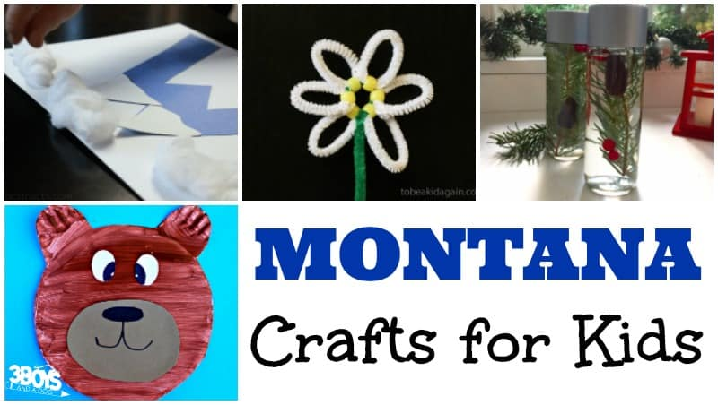Montana Crafts for Kids to Make