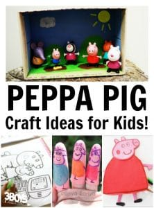 Peppa Pig Craft Ideas