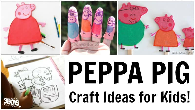 Peppa Pig Craft Ideas for Kids