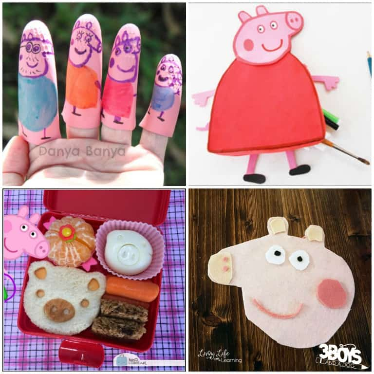 Peppa Pig Craft Ideas to Try