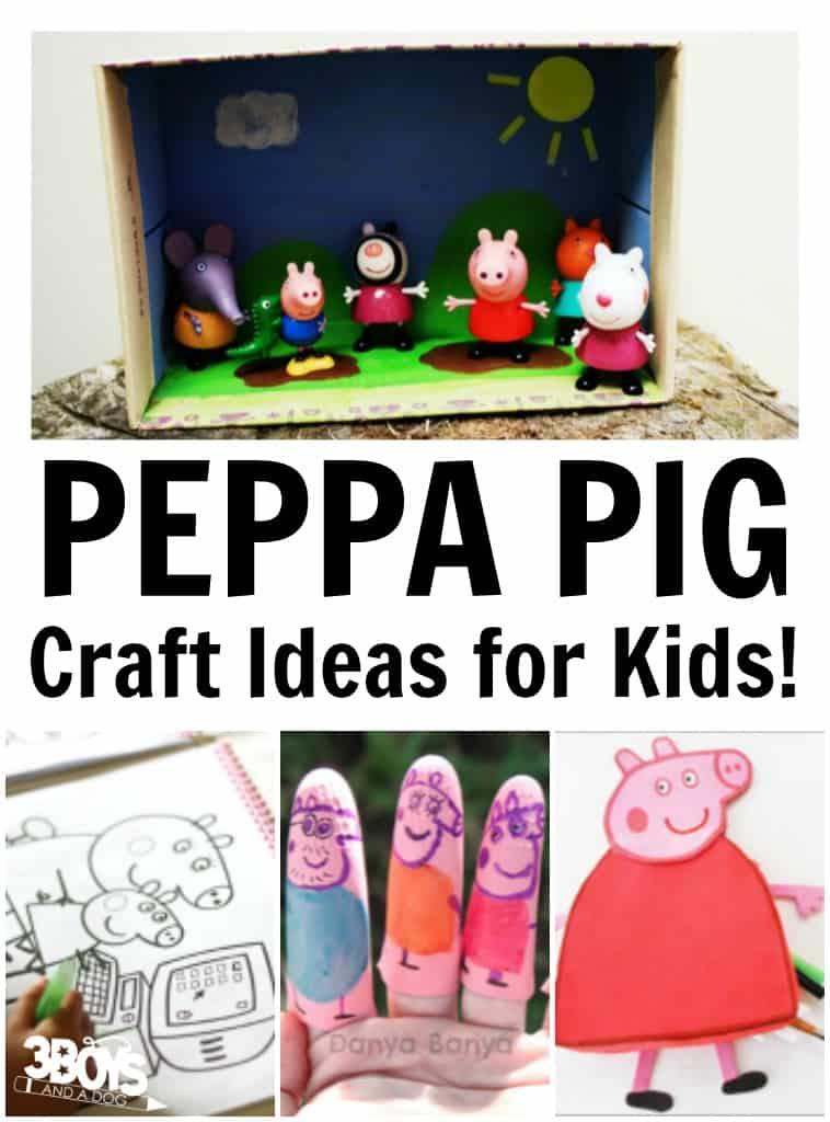 Peppa Pig Craft Ideas