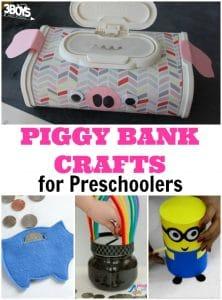 Adorable Piggy Bank Crafts for Preschool