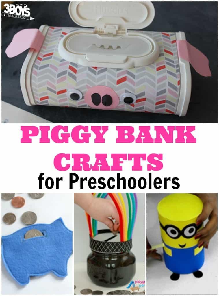 Piggy Bank Crafts for Preschool