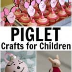 Cute Piglet Crafts for Children