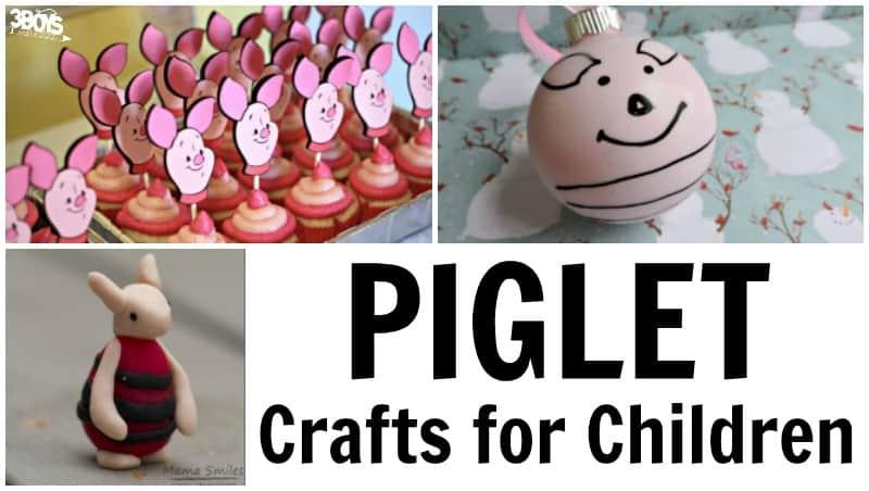 Piglet Crafts for Children to Make