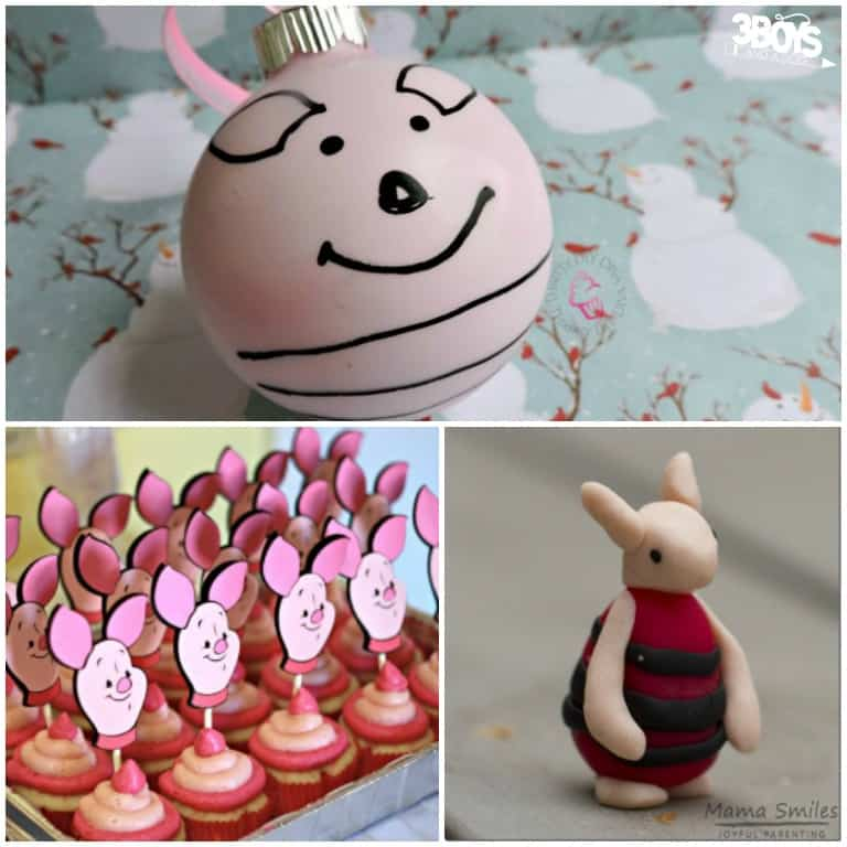 Piglet Crafts for Children to Try
