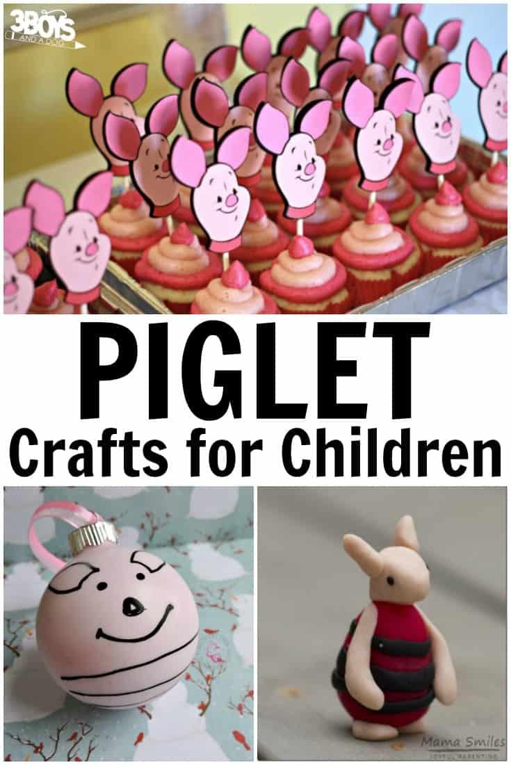 Piglet Crafts for Children