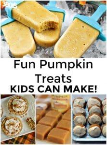 30 Pumpkin Treats Kids Can Make