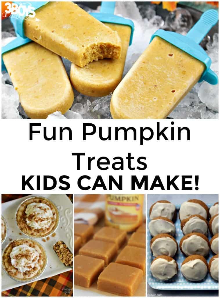 Pumpkin Treats Kids Can Make