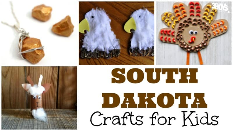 South Dakota Crafts for Kids and Parents
