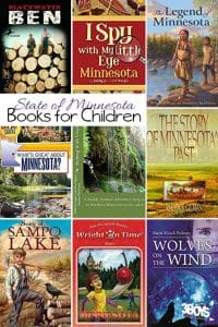 These Minnesota State Books for Kids are sure to please and fascinate your children as they learn all about the state of Minnesota.