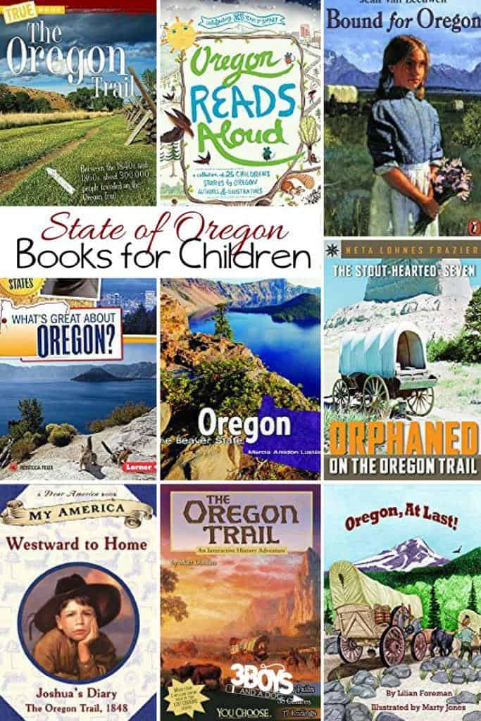 These books contain so much information about the long and varied History of this great State as well as Fun Facts about Oregon for Kids!