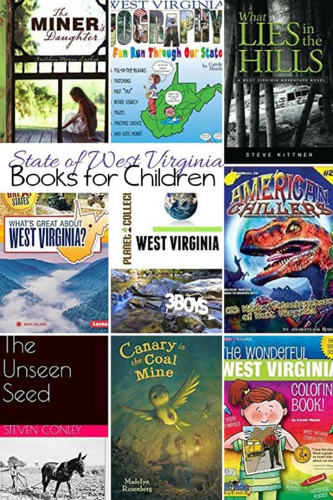 State of West Virginia Books for Children