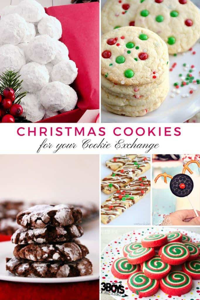 The Best Cookie Exchange Recipes 3 Boys And A Dog