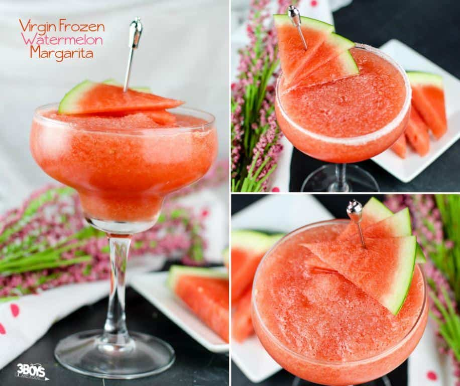 non alcohol watermelon margarita