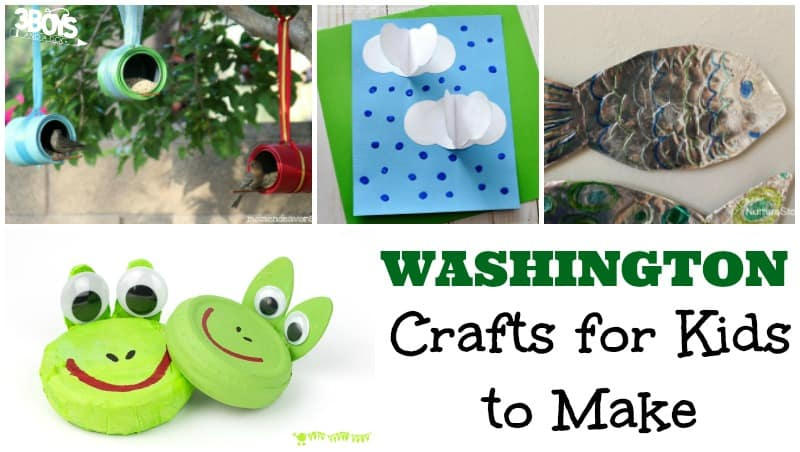 Washington Crafts for Kids to Make