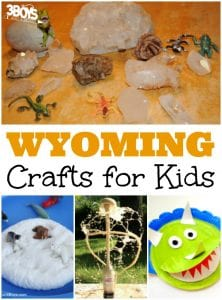 Wyoming Crafts for Kids