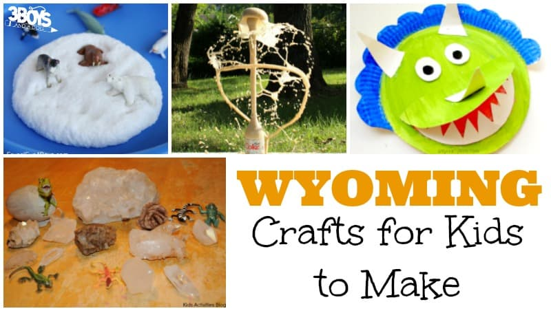 Wyoming Crafts for Kids to Make
