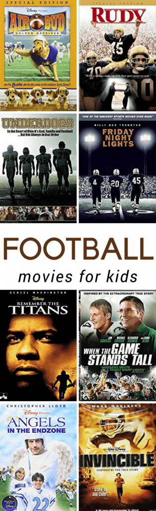 Best American Football Movies for Kids