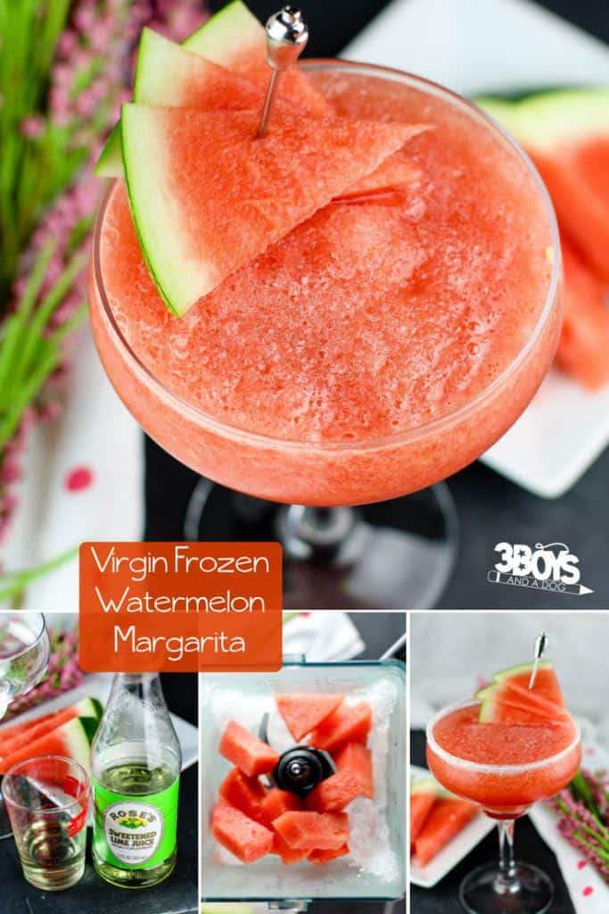 Virgin Frozen Watermelon Margarita