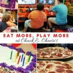 5 Reasons To Have A Big Kid's Chuck E Cheese Birthday Party!