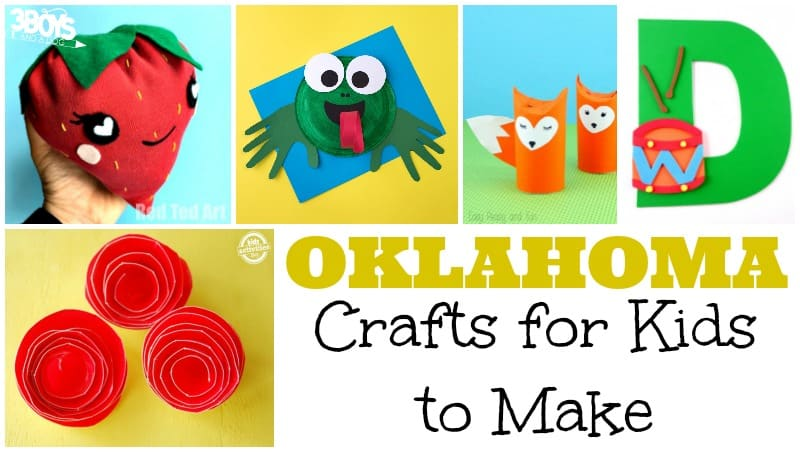 Oklahoma Crafts for Kids to Make