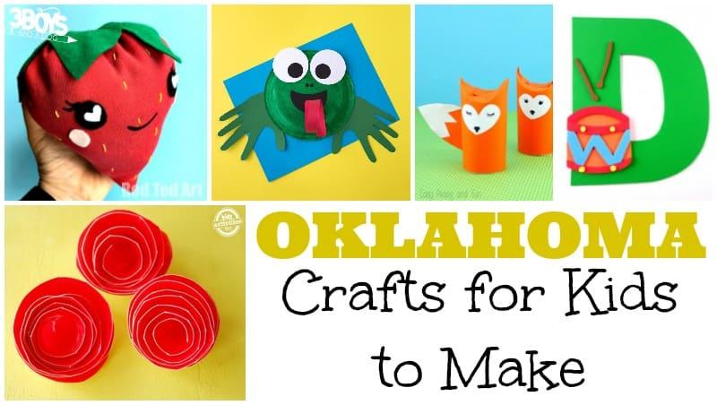 Oklahoma Crafts for Kids to Make