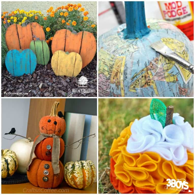 Pumpkin Crafts to Make in Autumn