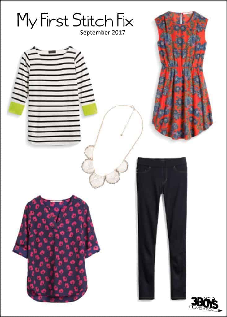 Stitch Fix 1 Unboxing and Thoughts