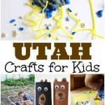 Utah Crafts for Kids