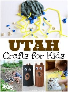 Utah Crafts for Kids