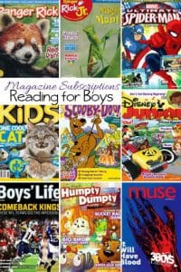 This awesome list of The Best Magazines for Boys is sure to excite them and make them forget they are actually learning.